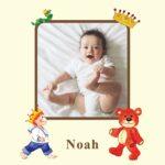 Fotoside til Babybogen dreng