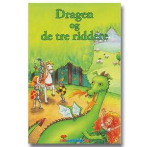 Personlig børnebog med navn - Dragen og de tre riddere