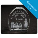 Konfirmation 2021 – 3D glas gave
