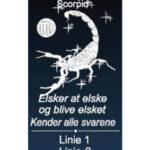 Stjernetegn med navn – Skorpionen-0