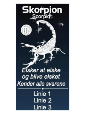Stjernetegn med navn - Skorpionen-0