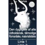 stjernetegn tyren i 3D glas en personlig gave