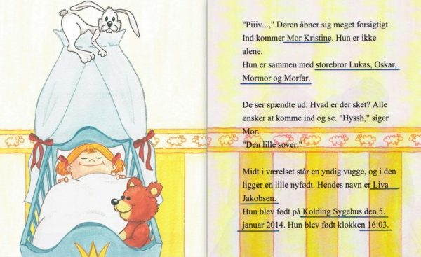 Babybogen – barnets første bog – enlig mor-1296