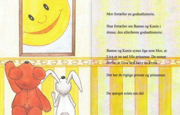 Babybog – barnets bog til piger -1354