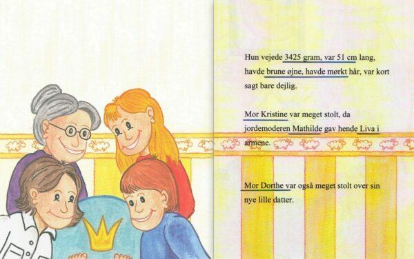 Babybogen – barnets første bog – to mødre-1253