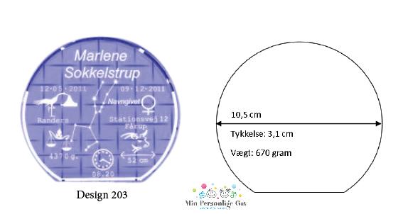Dåbsglas – rund glas – Large-1493