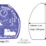 Dåbsgave – glastype Shape – X-Medium-933