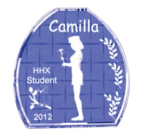 studentergave 2014 personligt med navn