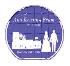 bryllupsgave og morgengave fra minpersonligegave.dk