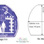 Bryllupsglas – Shape – medium-1070