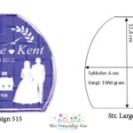 Bryllupsglas – Shape – Large-1083