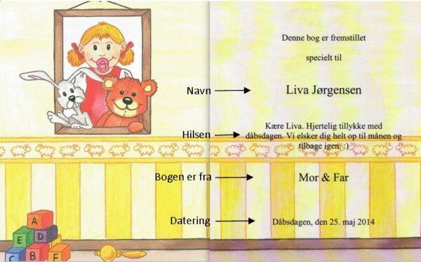 barnets første bog til piger