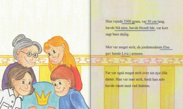 Babybog – barnets bog til piger -1349