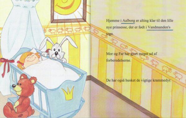 Babybog – barnets bog til piger -1345