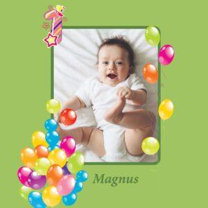 Fødselsdagsbogen - til børn-2218