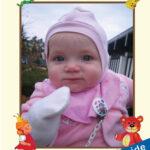 personlig billede i babybogen
