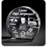 Dåbsglas – rund glas – X-Large-0