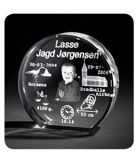 Dåbsglas - rund glas - X-Large-0
