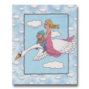 Svanebogen - personlig børnebog for piger