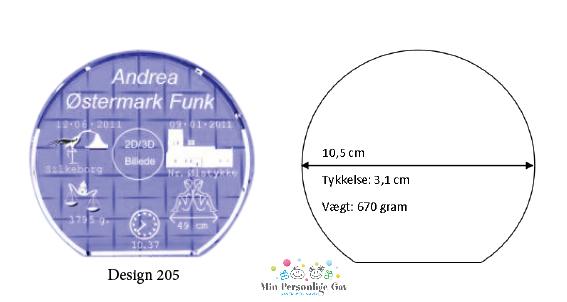 Dåbsglas – rund glas – Large-1498