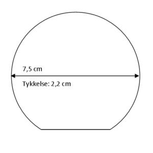 Rundt glas - medium-0