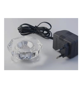 Lyssokkel - glas-0