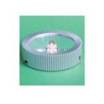 Lyssokkel til batteri – rund 20-0