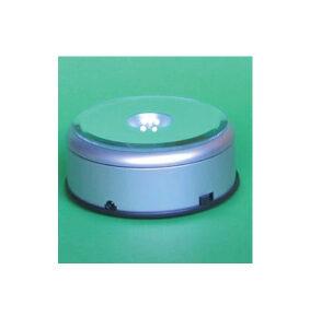 Lyssokkel til 220V og batteri - hvidt lys - 26-0