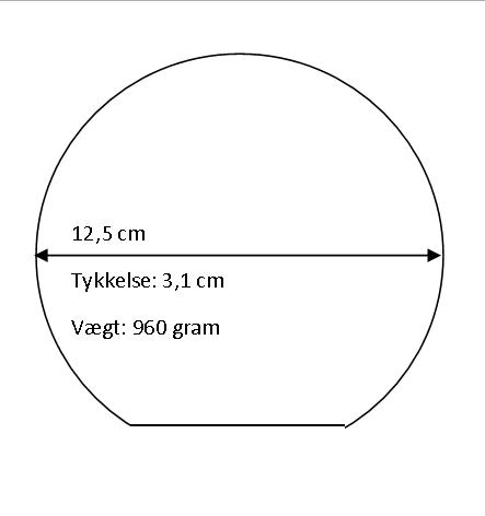 Rundt glas – X-Large-0