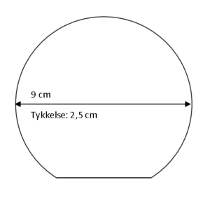 Rundt glas - X-Medium-0