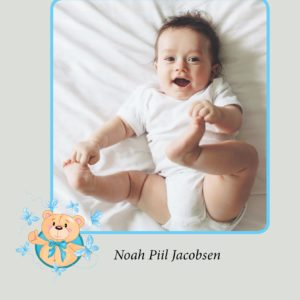 Gæstebog til barnedåb - dreng-2206
