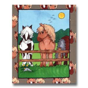 Hestebogen - personlig børnebog med navn