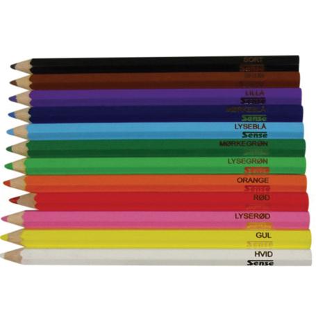 jumbo farveblyanter til farve blinde