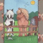 hestebog en personlig bog med barnets navn
