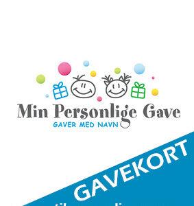 Gavekort til personlig gave