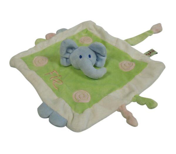 Nusseklud Elefant-0