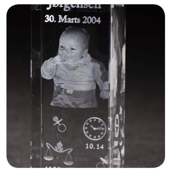 Luksus dåbsglas med alt!-2062