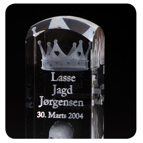 Luksus dåbsglas -2074