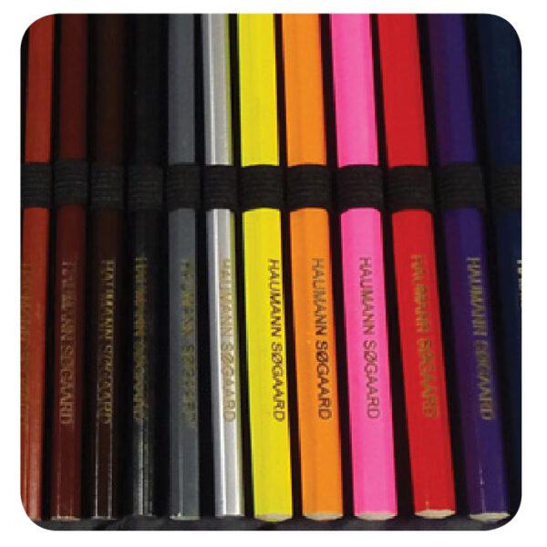Tegnesæt med 36 farveblyanter-2078