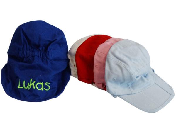 Hat med nakkeskygge-0