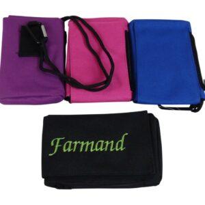 xl mobil taske med navn