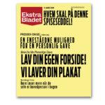Ekstra Bladet plakat din egen spiseseddel
