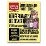 Ekstra Bladet plakat til årets brudepar