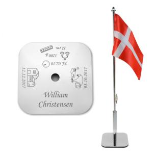 Dåbsflag Pige/Dreng-0