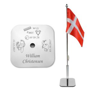 Flag til navngivning Pige/Dreng-0