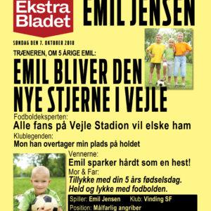 Vi elsker fodbold - plakat til børn-0