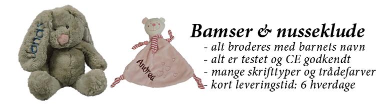 Bamser & Nusseklude