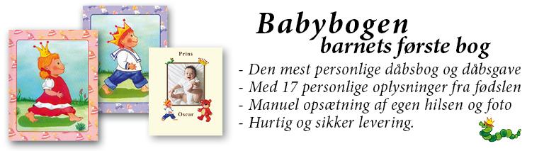 Babybogen - Barnets Første Bog