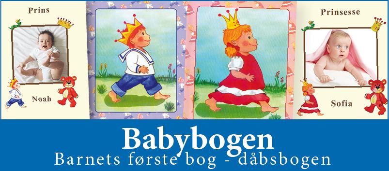 Babybogen er barnets første bog - dåbsbogen fra Min Personlige Bog