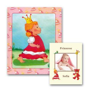 Babybogen - Barnets Første Bog til piger - med foto
